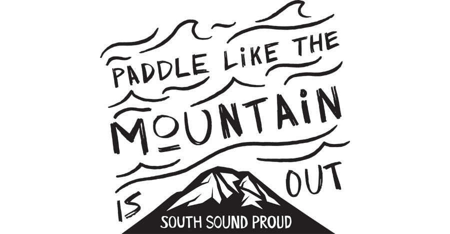 Paddle Like the Mountain Out
